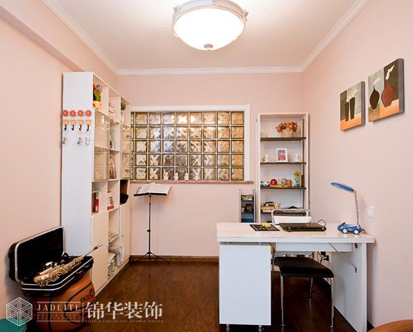尚映像140平三室两厅两卫简欧风格实景样板间装修-三室两厅-简欧