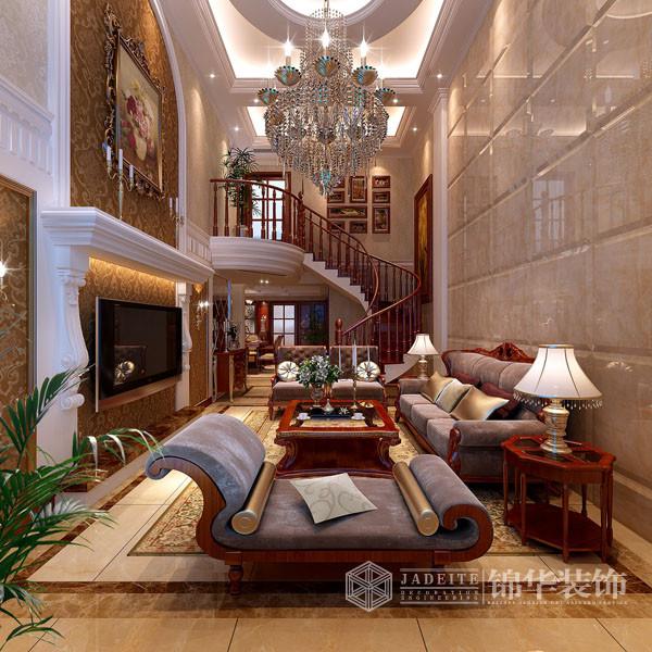 绿地世纪城-欧式古典-韩非装修-别墅-欧式古典
