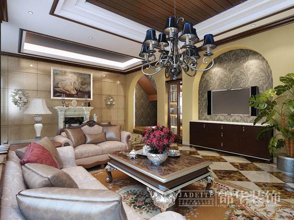 瑪斯蘭德-欧式-张安装修-别墅-欧式古典