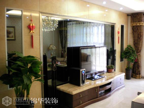 大春城140平简欧风格实景样板间装修 三室两厅装修效果图 简欧风格
