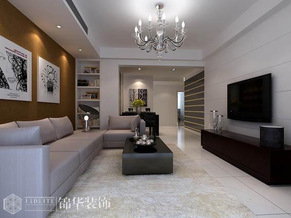 瑜憬湾三室两厅现代简约风格效果图