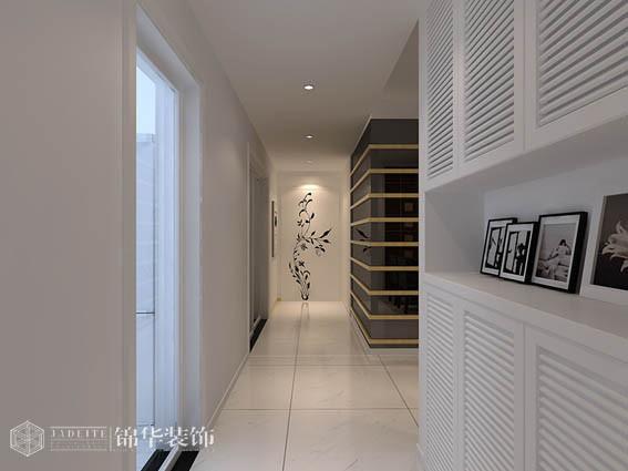 瑜憬湾三室两厅现代简约风格效果图装修-三室两厅-现代简约