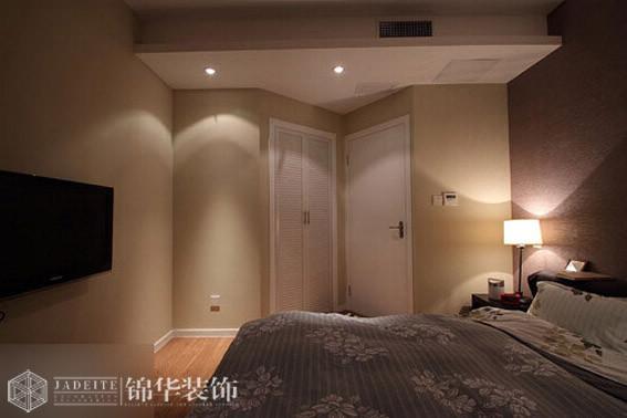 太湖国际106平现代简约风格效果图 装修-三室两厅-现代简约