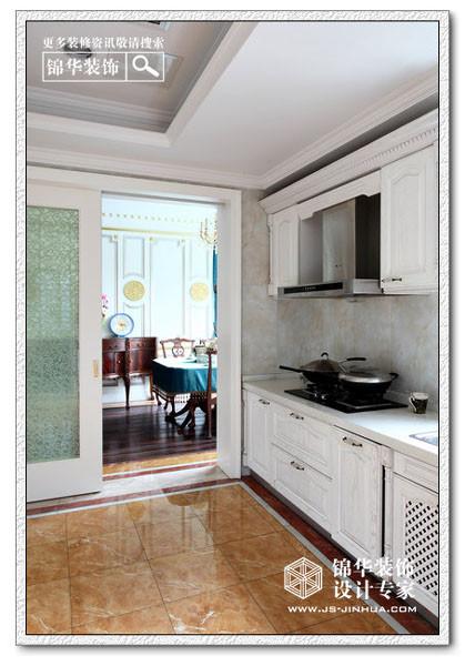 厨房窄长设计图