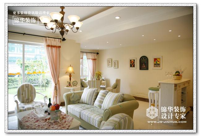 襄城明珠装修-三室一厅-美式田园