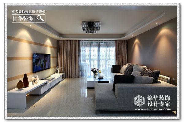融侨中央花园玫瑰街区装修-两室两厅-现代简约