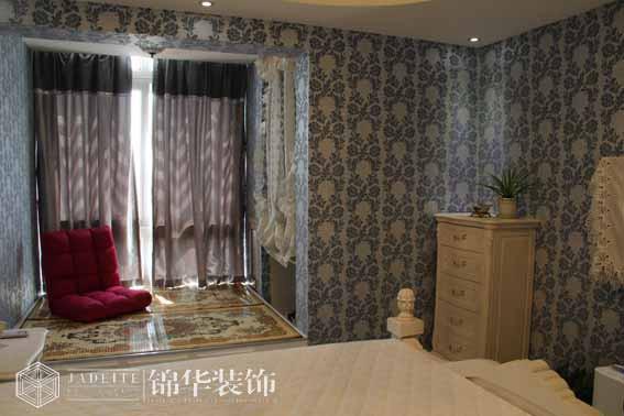金科观天下80平两室两厅田园风格实景样板间装修 两室两厅装修效果