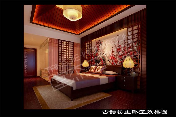 古韵坊400平联排别墅中式风格效果图 装修-别墅-新中式