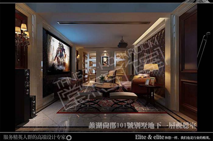 蠡湖尚郡350平欧式风格效果图 装修-别墅-欧式古典
