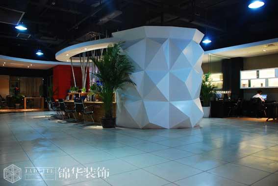 现代简约风格办公室装修实景图装修-大户型-现代简约