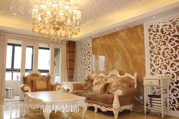 凤凰城168平四室两厅两卫美式风格实景样板间