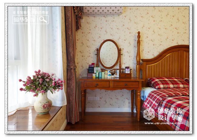 园色-汇林绿洲装修-两室两厅-美式田园