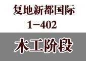 复地新都国际1栋402工地纪实-木工阶段