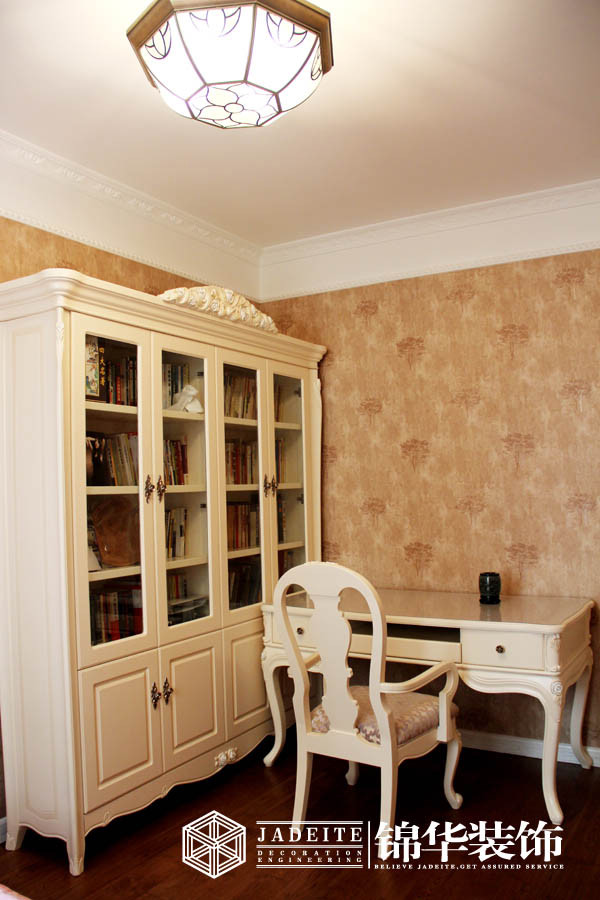 瑞尔国际--玫瑰花语(最新作品)装修-三室两厅-简欧