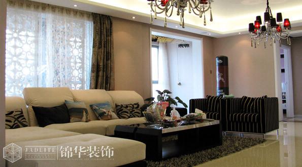 太湖国际三室两厅现代简约风格实景样板间  装修-三室两厅-现代简约