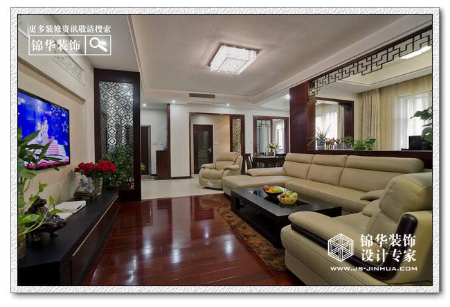 静气怡情-山居十六院装修-三室两厅-新中式