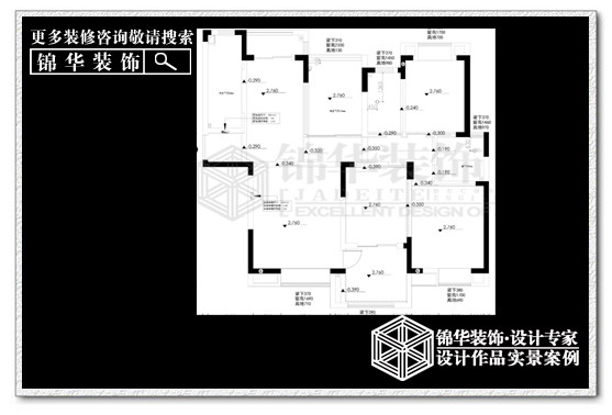 如皋金鼎名城(最新作品)装修-三室两厅-现代简约