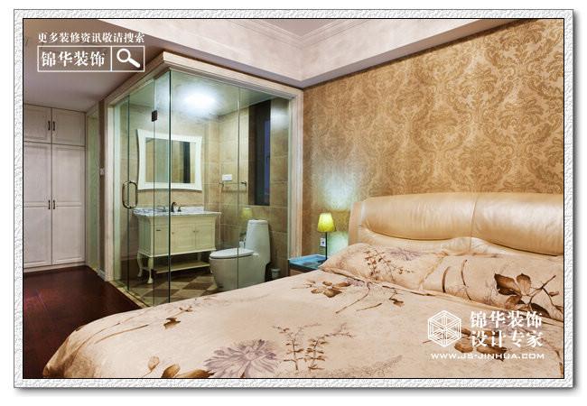 融侨中央花园装修-三室两厅-简欧-南京锦华装饰设计
