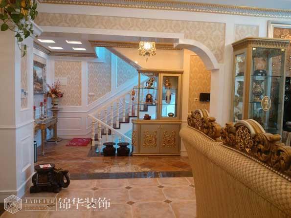 中堂院墅欧式风格实景图装修-别墅图片大全-欧式古典