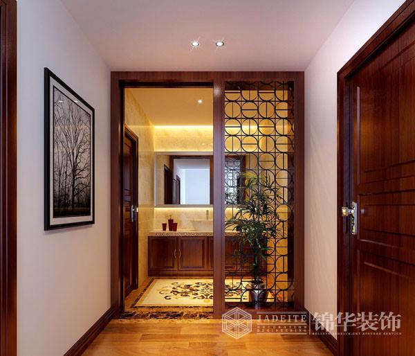 现代新中式-汉府雅园装修-别墅-新中式