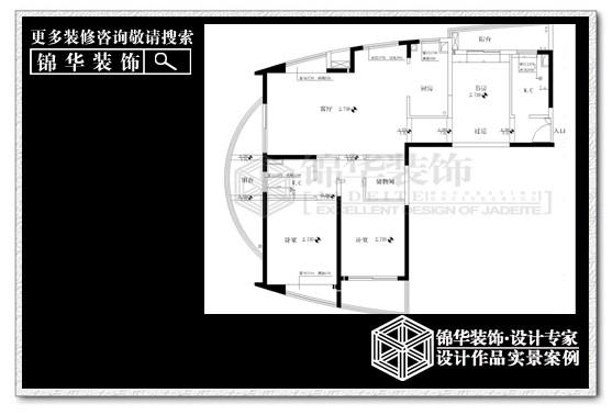 中南七星花园装修-三室两厅-简欧