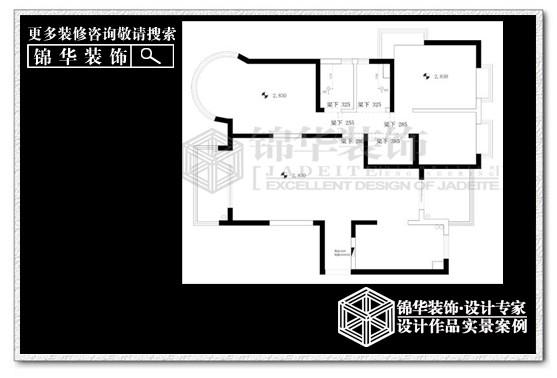 中南世纪城装修-两室两厅-现代简约