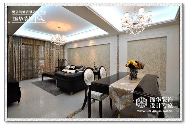 后奢华-凯鸿隽府装修-两室两厅-新古典
