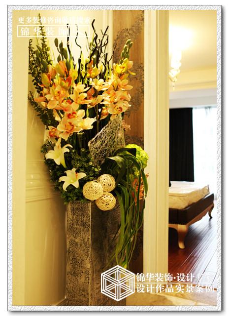 天安花园装修-三室两厅-简欧
