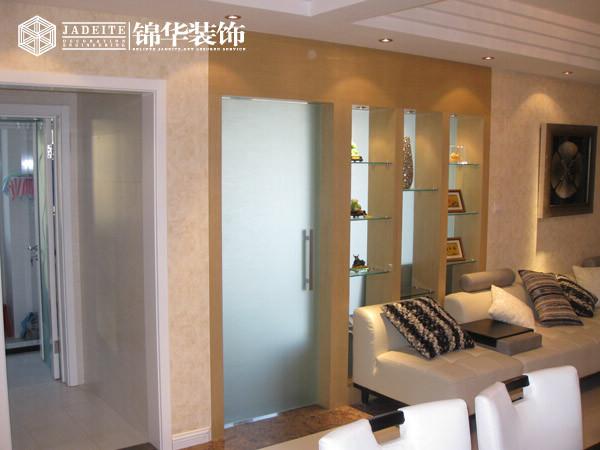 钱江方洲装修-三室一厅-简欧