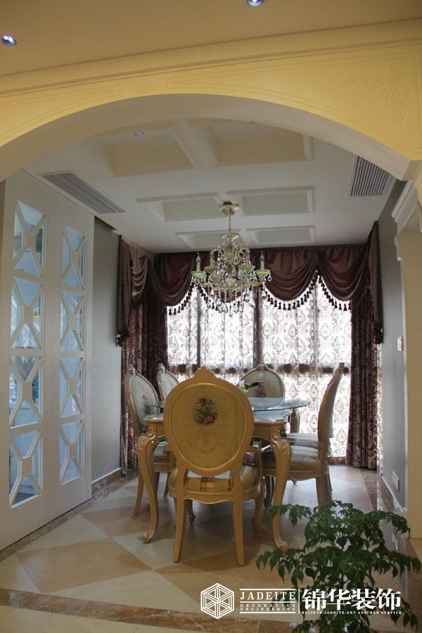 纯美艺术装修-三室两厅-欧式古典