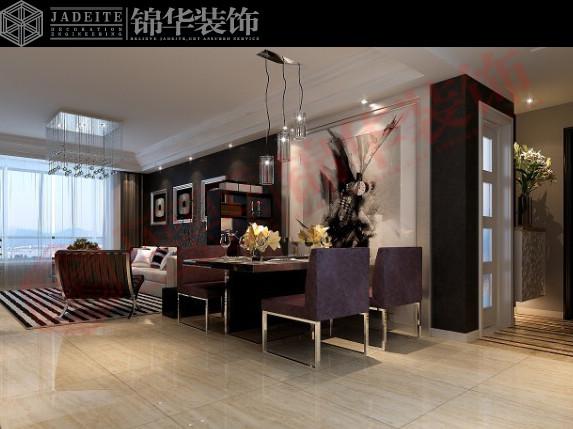 万宁华府装修-三室两厅-新中式