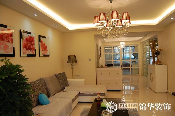 温馨淡雅装修-三室两厅-现代简约
