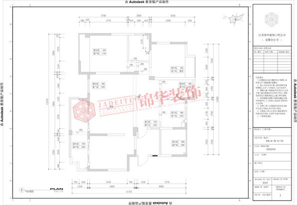 绿地波士顿公馆140平新古典主义风格效果图 装修-三室两厅-新古典