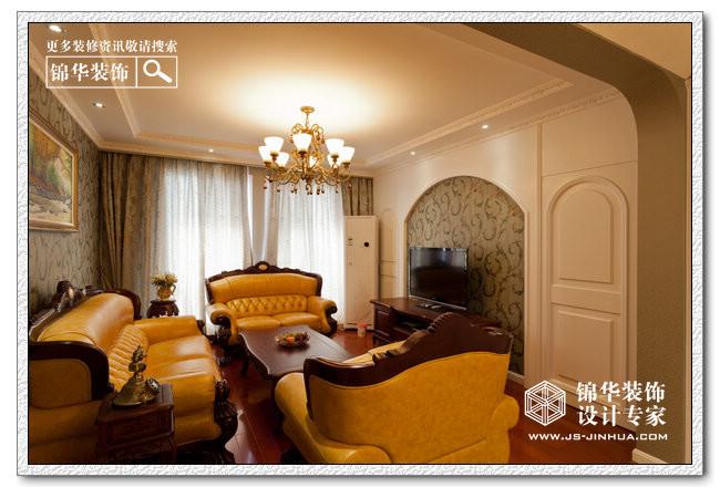 法式乡村-仙龙湾装修-三室两厅-现代简约