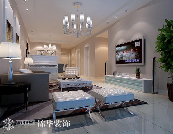 金太湖国际90平两室两厅现代简约风格效果图