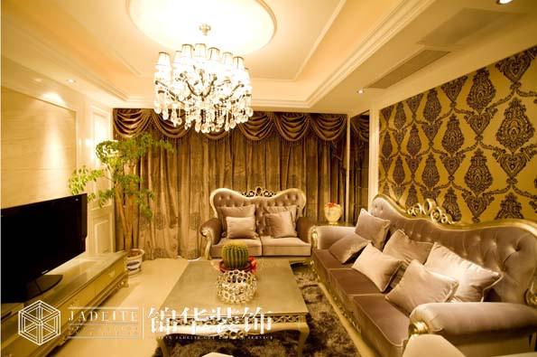 江阴港城名邸简欧风格实景图 装修-三室两厅-简欧