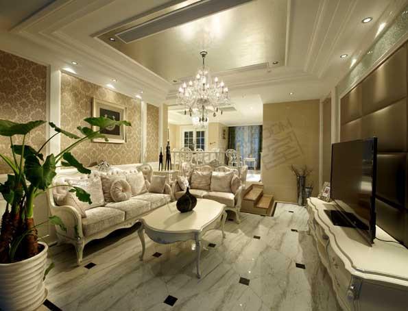 太湖国际250平方欧式后奢华风格实景图装修-大户型-简欧