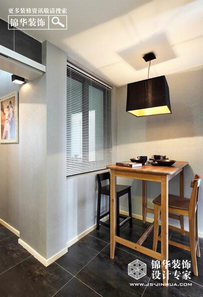 加减生活-恒山路139号装修-两室两厅装修效果图-现代简约风格