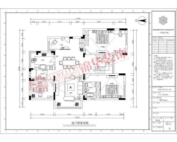 东方大院220平欧式风格效果图装修-跃层复式-简欧