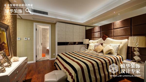 浪漫新贵-雅居乐花园装修-三室两厅-现代简约