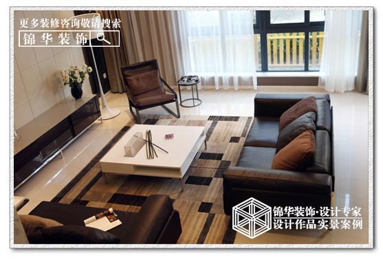 金水湾装修-三室两厅-现代简约