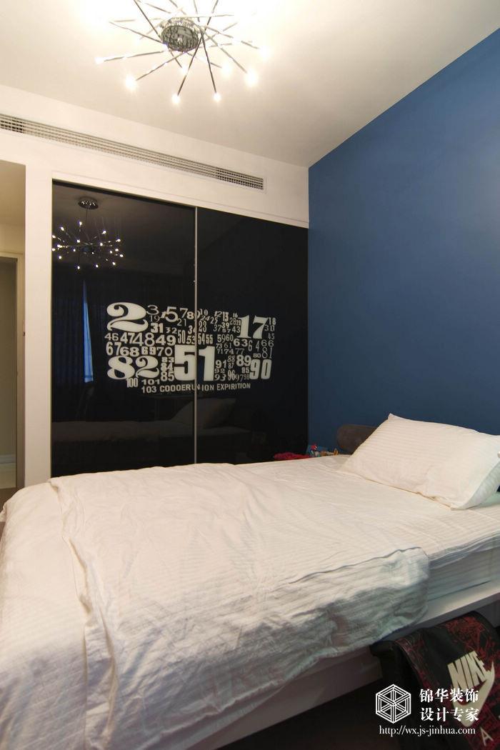 现代简约风格-融创熙园-大户型-170平米-儿童房-装修实景效果图