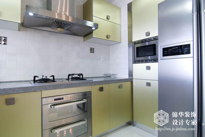 现代简约风格-融创熙园-大户型-170平米-厨房-装修实景效果图
