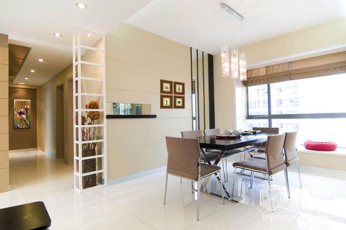 现代简约风格-融创熙园-大户型-170平米-餐厅-装修实景效果图