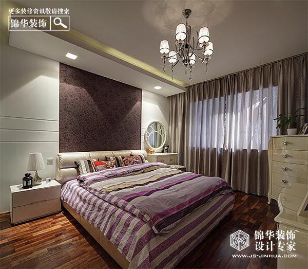 蓬勃新叶-金鼎湾花园装修-三室一厅-现代简约