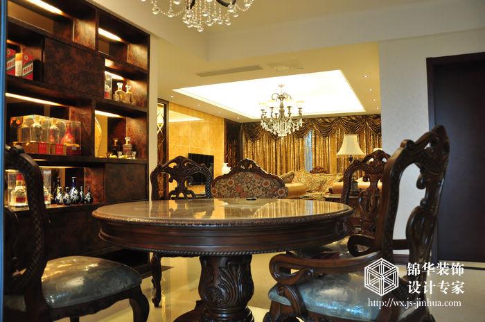 太湖国际130平三室两厅一卫欧式风格实景图装修-三室两厅-欧式古典