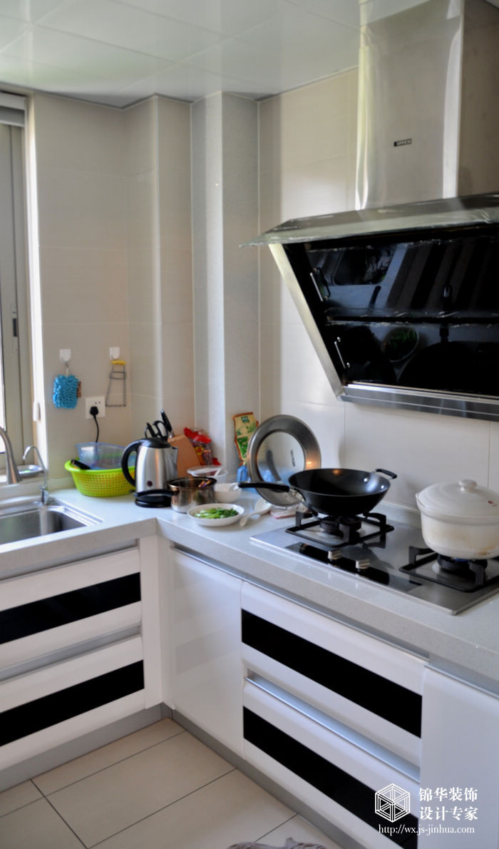 厨房装修效果图-装修图片-无锡锦华装饰