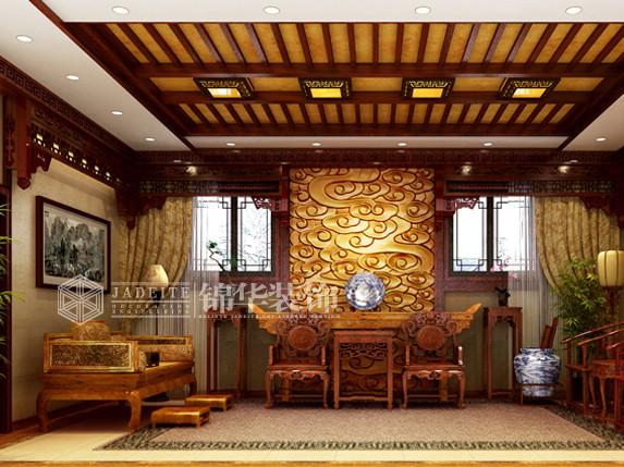 四合院装修-大户型-新古典风格
