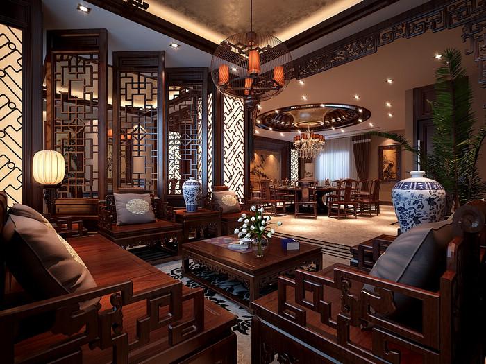 酒店装修-大户型-新古典