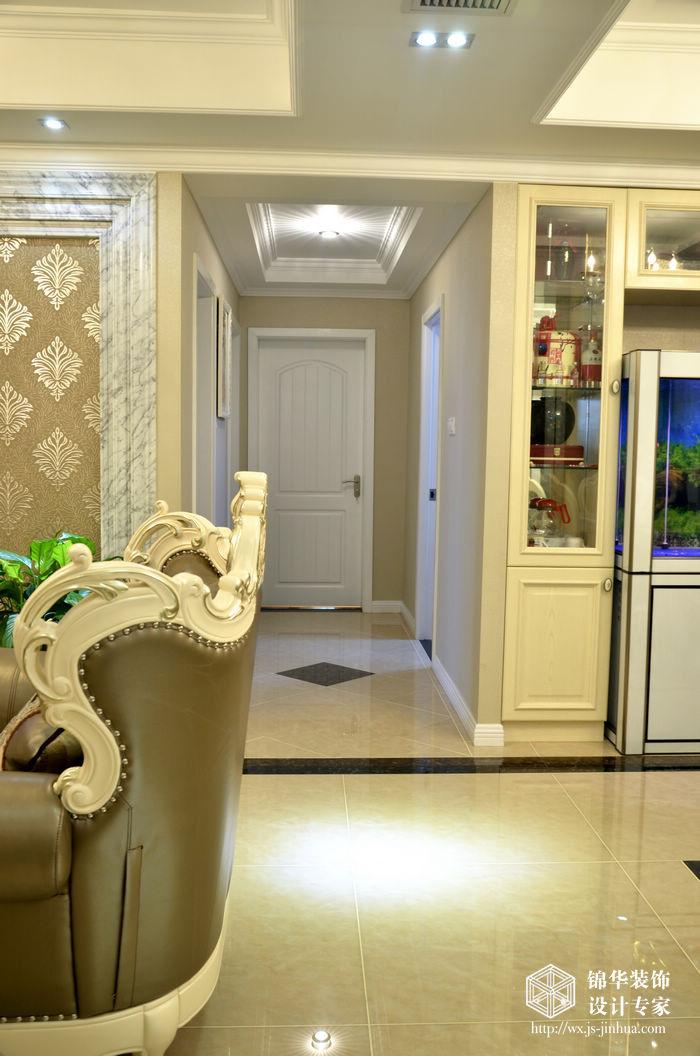 金太湖143平四房两厅两卫简欧风格实景图装修-大户型-简欧